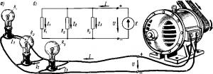 Рис. 26. Схемы параллельного соединения приемников