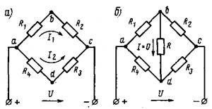 Рис. 28. Мостовые схемы включения резисторов Рис. 29. Схема включения реле боксования