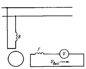 Рис. 277. Схема асинхронного тахогенератора