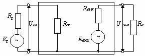 Рис. 2.2 Структурная схема усилительного каскада