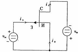 Рис. 1.26 Схема с общей базой